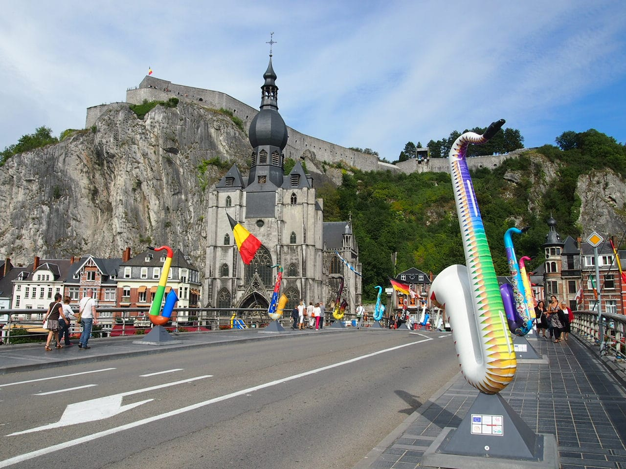 Getting out of the House and Visiting Dinant
