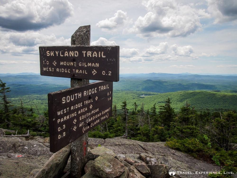 Hiking Mount Cardigan, New Hampshire