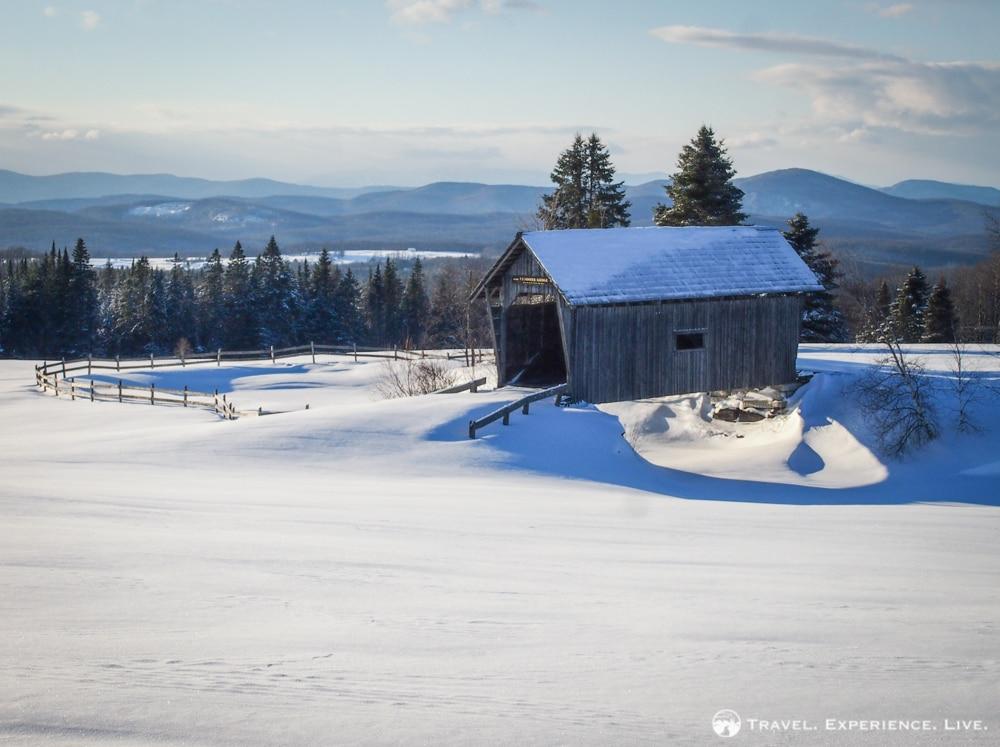 Foster Covered Bridge: The Most Scenic Covered Bridge in Vermont?