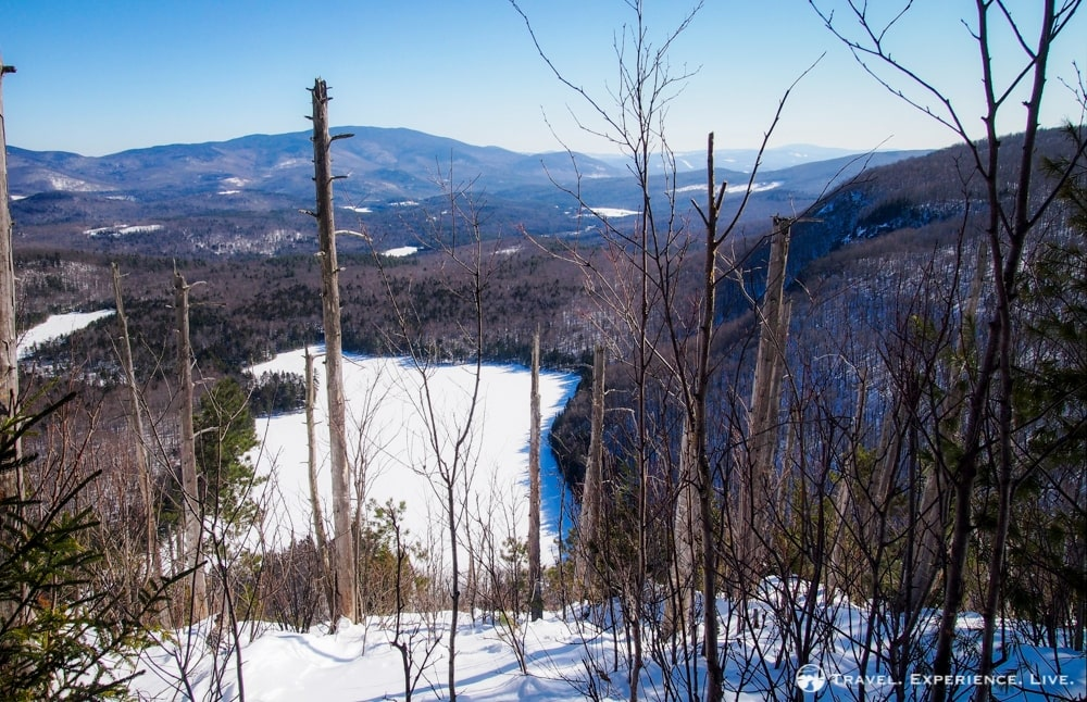 A Snowshoe View of Wichapauka Pond