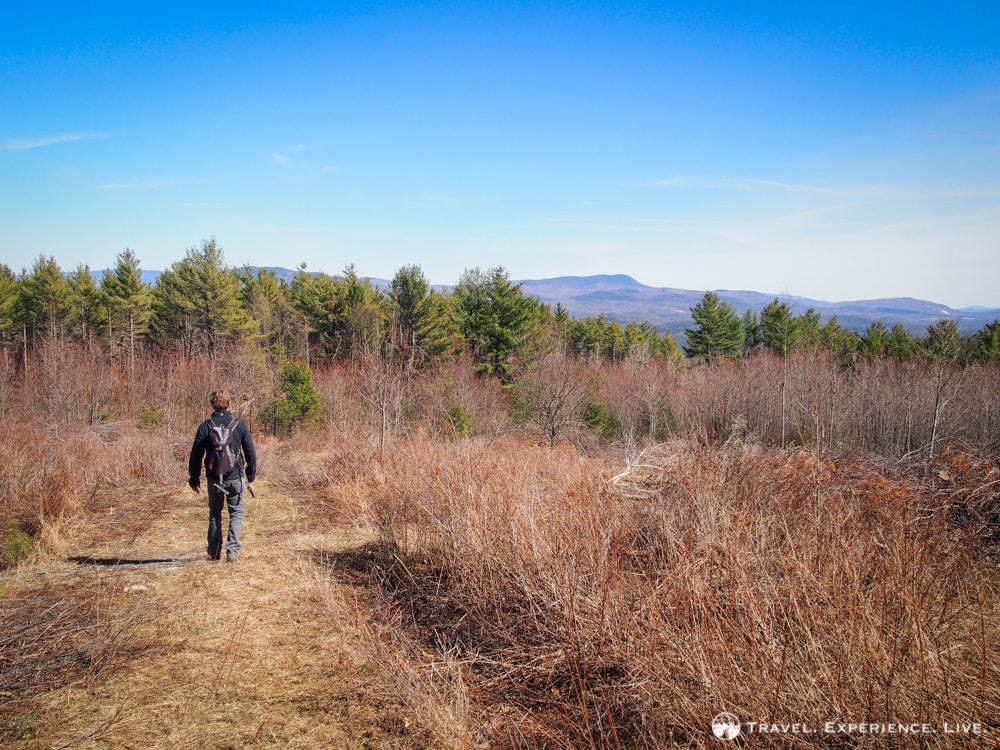 Hiking Bald Top Mountain, Vermont