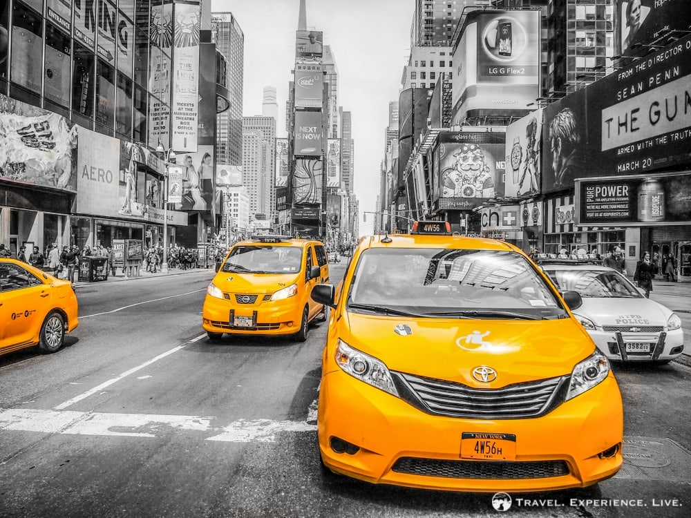 10 Fun Pictures of Taxis in Manhattan