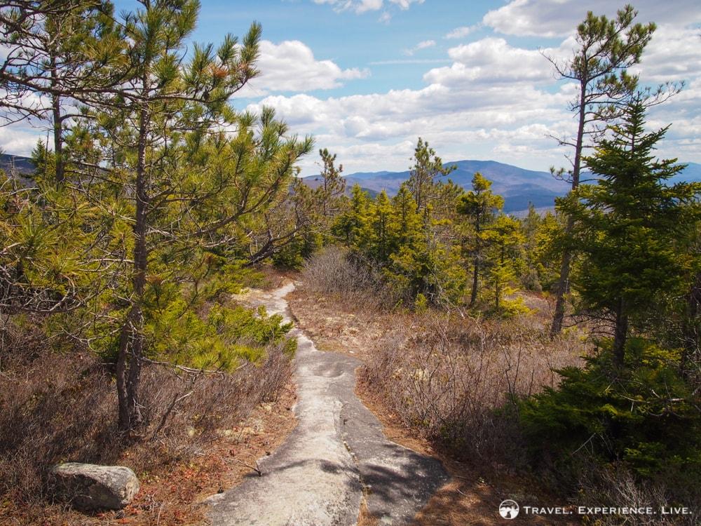 Hiking Blueberry Mountain, New Hampshire