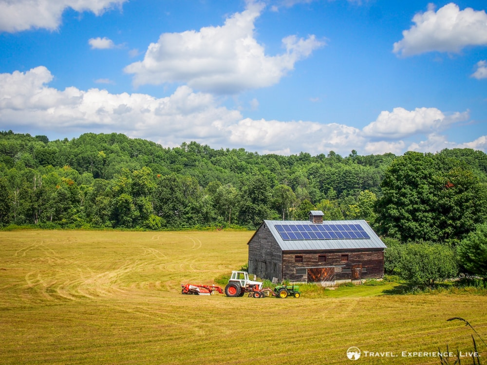 Agricultural Landscapes of Vermont in Photos