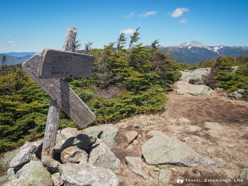 Hiking the Mount Webster-Mount Jackson Loop