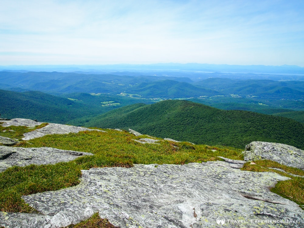 Hiking Camel's Hump, Vermont