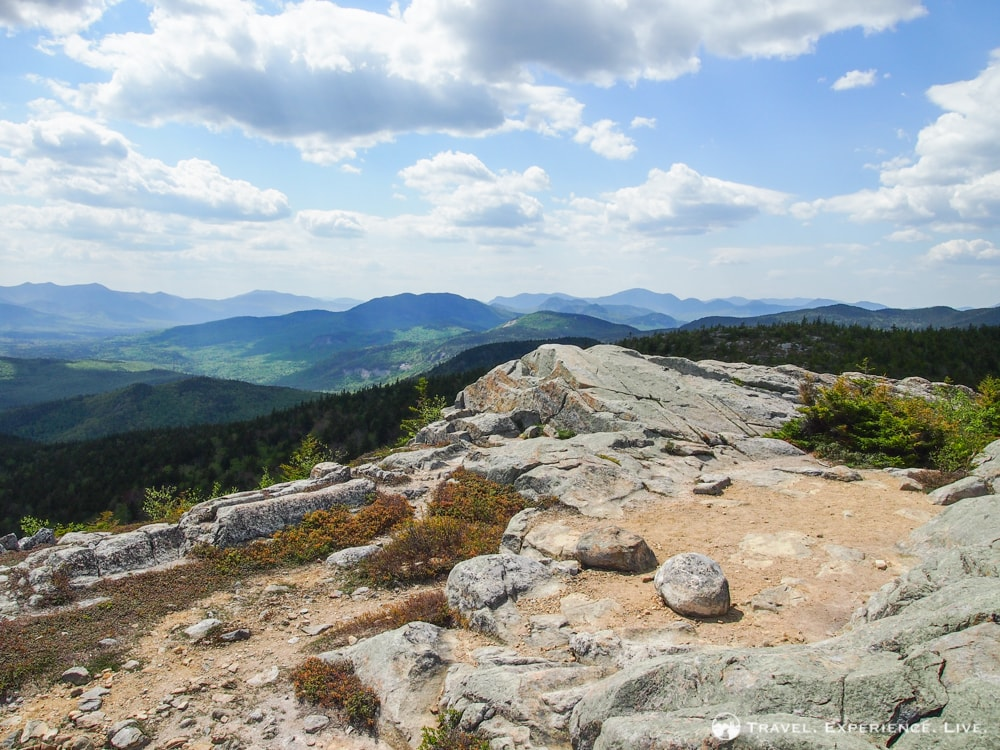 Hiking South Moat Mountain, New Hampshire