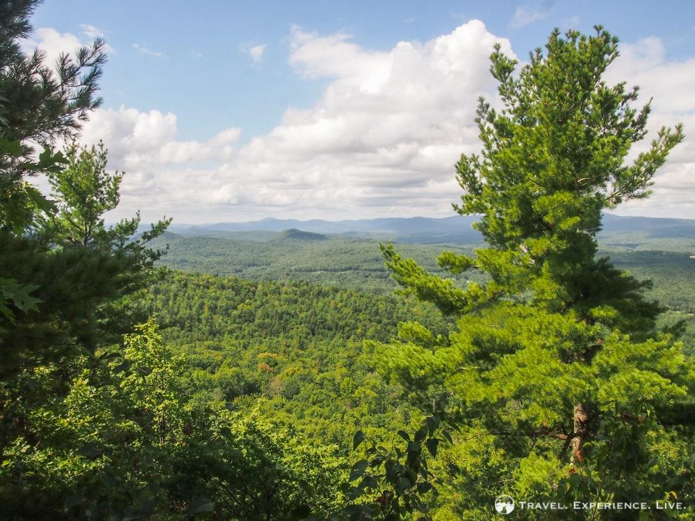 Hiking Mount Kearsarge, New Hampshire