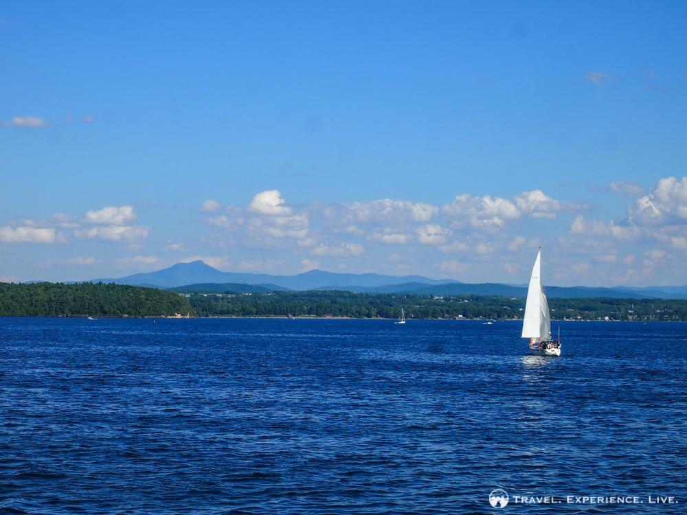 Cruising Lake Champlain, Vermont