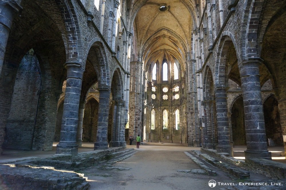 The Abbey Ruins of Villers-la-Ville, Belgium