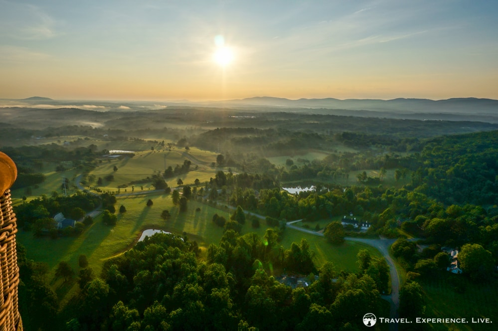 Charlottesville From a Different Perspective – A Hot Air Balloon Ride