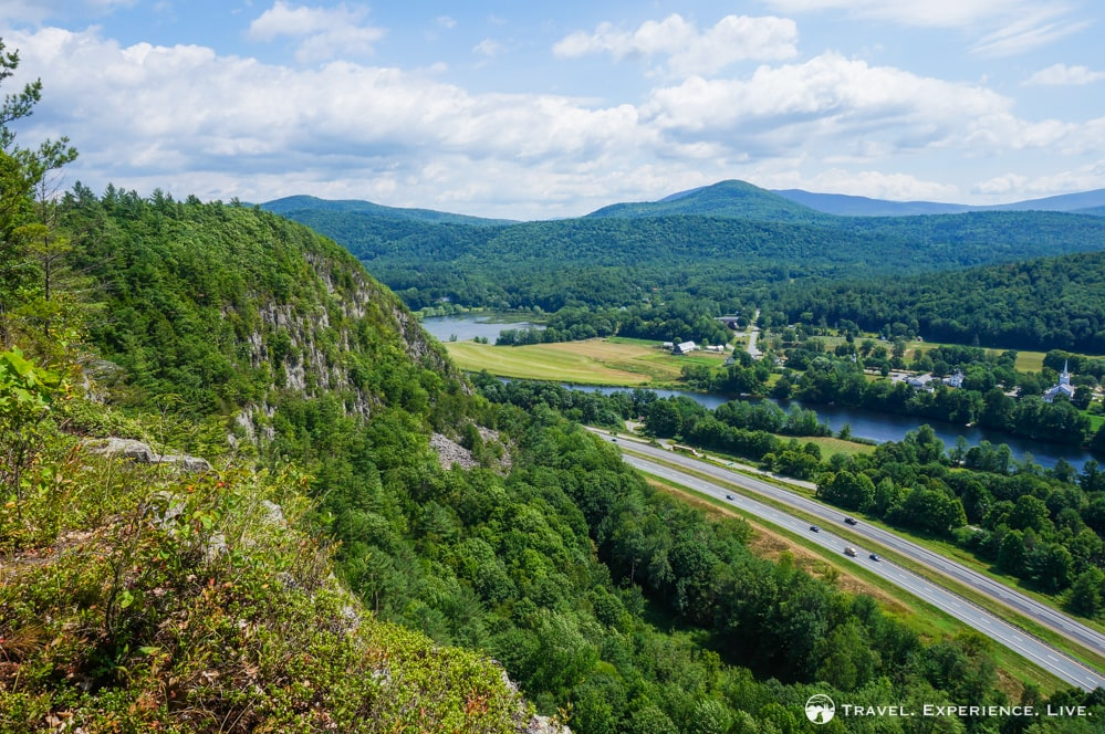 The Palisades, A Quick But Scenic Hike in Fairlee, Vermont