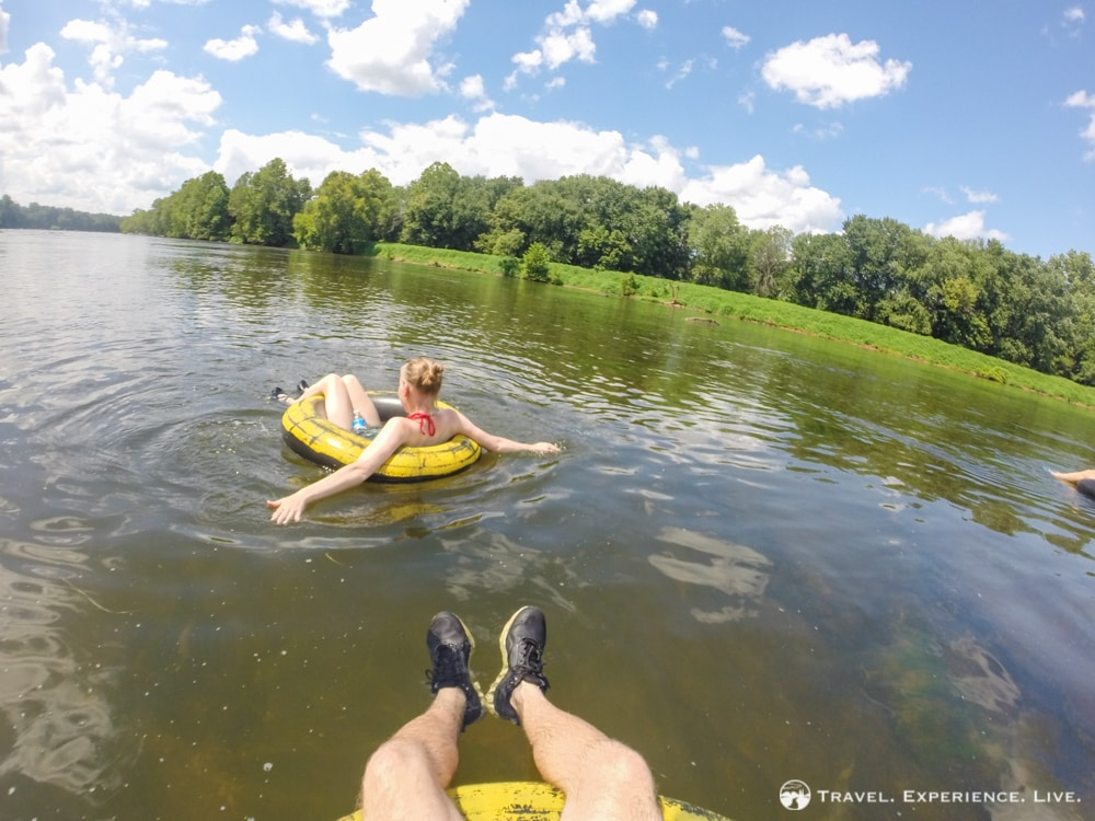 Charlottesville's Laziest Adventure: Tubing on the James River