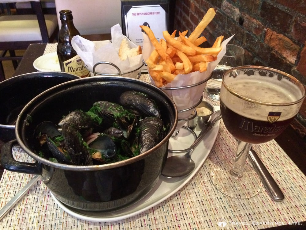 Belgian Cuisine in the U.S. Capital: Belga Café