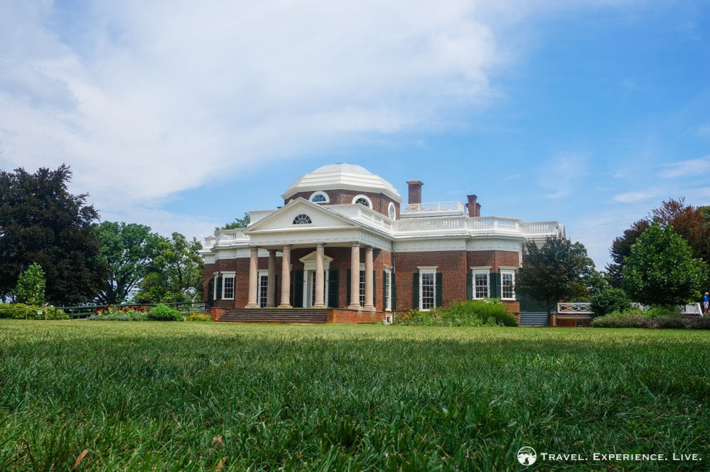 Thomas jefferson s monticello charlottesville travel for Thomas jefferson house monticello