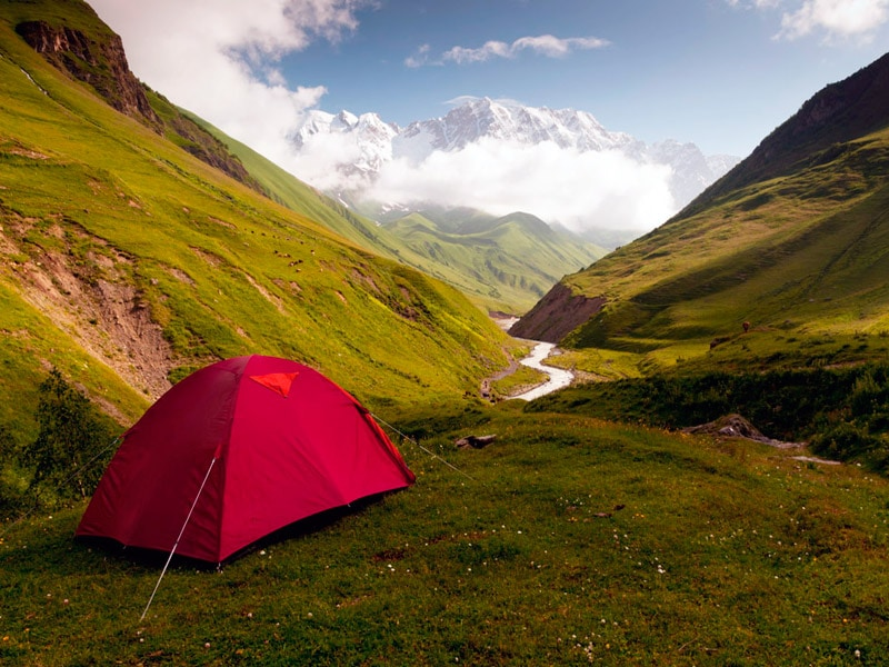 The South Caucasus: Holidays in the Mountains