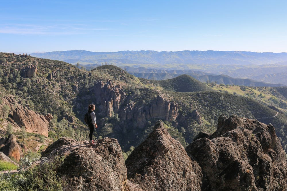 High Peaks Trail – Venturing Into the Heart of Pinnacles National Park, California