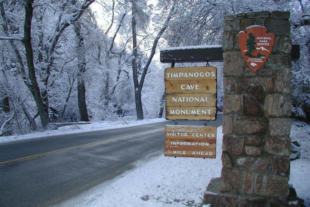 Timpanogos Cave National Monument, Utah - Credit NPS