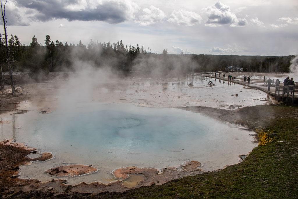 Yellowstone National Park visitation records broken in September 2021