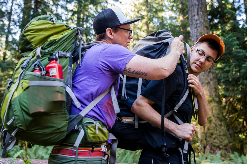 The Venture Out Project creates a safe space for queer and trans people to explore the outdoor and build leadership skills
