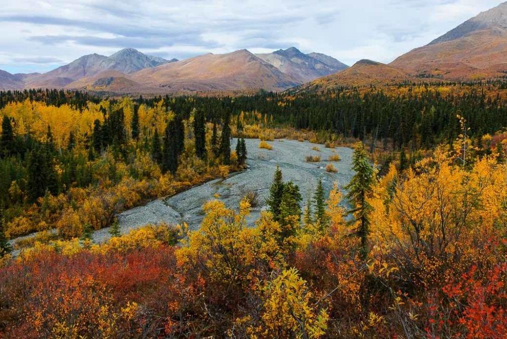 Fall in Wrangell-St. Elias National Park, Alaska - Image credit NPS