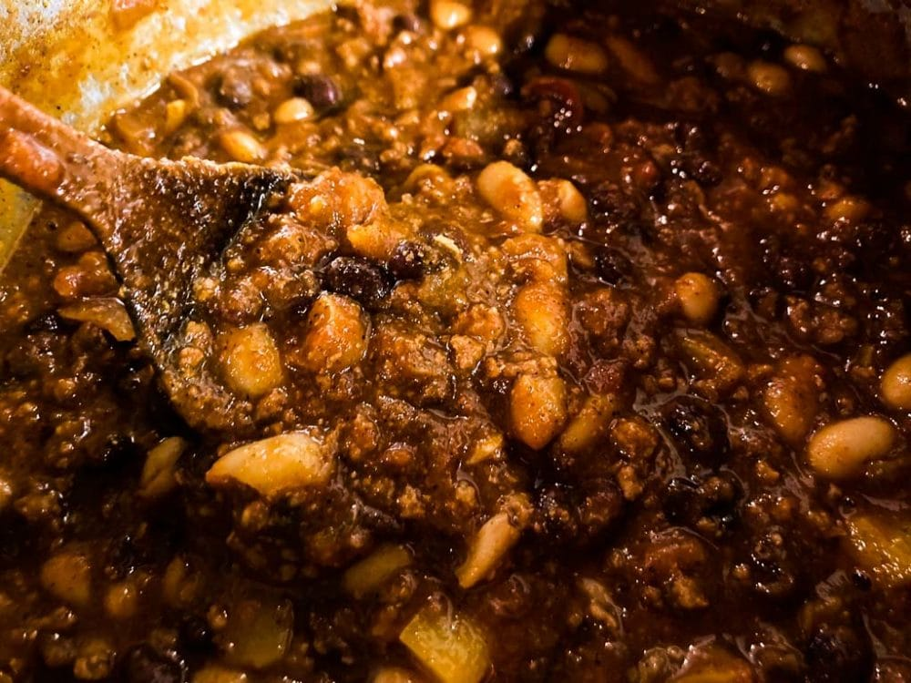 Game Chili inspired by Grand Teton National Park